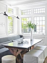 Antique White Dining Room Exterior Custom Design