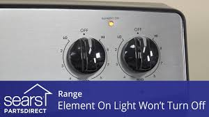 Whirlpool Oven Cooktop On Light Stays On Range Surface Heating Element Light Won T Turn Off