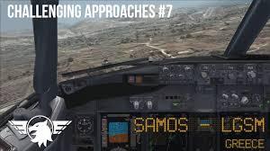 Worlds Hardest Approach 7 Samos Lgsm Landing Pmdg 737 Ngx