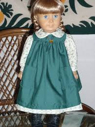 pioneer outfit. 1800s 2 pc little house prairie pioneer outfit - dress and pinafore for american girl kirsten t