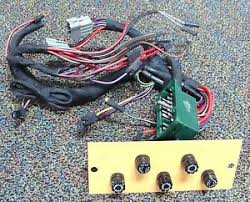 ford tractor loader backhoe 555b main wire harness (oem new tractor wiring harness at Universal Wiring Harness Ford Garden Tractor