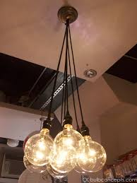 inspiring ceiling design and globe edison bulb chandelier for interior design ideas