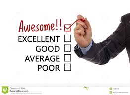Stock Drawing Achievement Image Satisfaction Of Customer Survey 31167813 - Service
