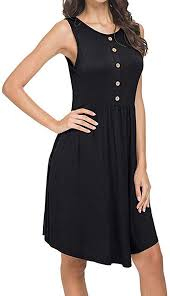 Women's Casual Dress, 2019 New Women Solid ... - Amazon.com