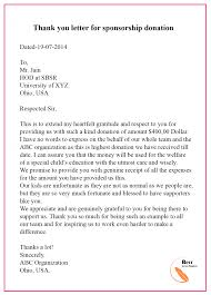 thank you letter template for