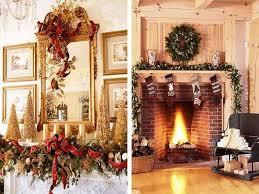 Image of: Simple Chimney Christmas Decoration Ideas