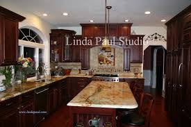 Interesting Painting Cherry Kitchen Cabinets White Dark Paint For Intended Design Ideas