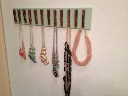 interior: Simple Styled Diy Jewelry Holders With Cute Pin To Hold The  Charming And Cute