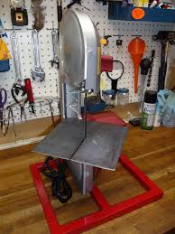 harbor freight bandsaw stand. i made a work table out of 1/8\ harbor freight bandsaw stand o