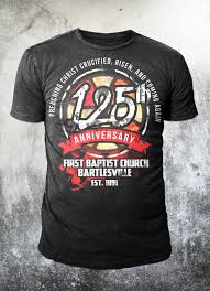 Company Anniversary T Shirt Design Ideas Bold Serious Church T Shirt Design For A Company By