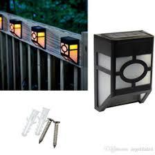 Lighting  Solar Lamp Post Lights Mission Style Solar Garden Lamp Solar Garden Post Lights