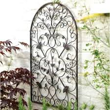 where to buy outdoor wrought iron wall art
