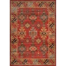 home decorators collection classic red 5 ft 2 in x 7 6 area rug the depot home decorator rugs