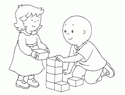 Small Picture Caillou coloring pages with rosie ColoringStar