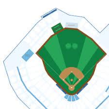 Target Field Interactive Baseball Seating Chart