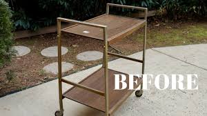 Vintage metal furniture Industrial Style Vintage Bar Cart Makeover From The Thrift Store Furniture Makeover Thrift Diving Pinterest Vintage Bar Cart Makeover From The Thrift Store Furniture Makeover