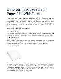what type of paper should a resume be printed on 11156