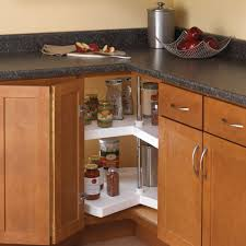 Kitchen Lazy Susan Cabinet Real Solutions For Real Life 32 In H X 28 In W X 28 In D 2