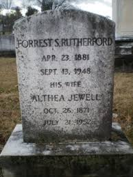 Althea Grant Jewell Rutherford (1871-1952) - Find A Grave Memorial
