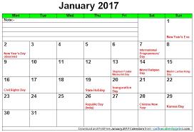 Online Calendar Printable – August 2017 Calendar Printable PDF ...