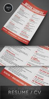 Free Resume Templates 40 Best Modern Cv Psd Ai Indesign For 89