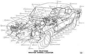 mustang wiring diagrams average joe restoration 1964 mustang master wiring pictorial
