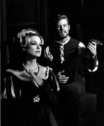 Measure for Measure, 1964, Betsy Smith and John Herring playing a lute |  SDSUnbound