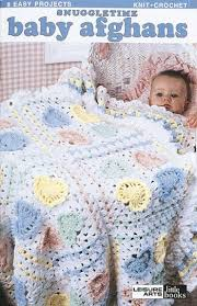 Baby Afghan Patterns Awesome Leisure Arts Snuggletime Baby Afghans Crochet Patterns 48