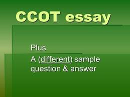 the continuity and change over time ccot essay ppt video  plus a different sample question answer