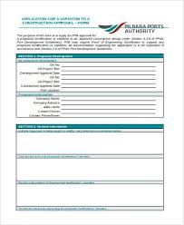 Sample Construction Variation Forms 8 Free Documents In Word Pdf