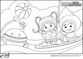 Small Picture Team Umizoomi Coloring Pages Printable Colorinenet 10896