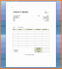 Credit Memo Letter 24 Credit Note Format In Word Mail Clerked 16
