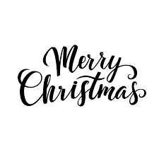 O Holy Night Christmas Calligraphy Greeting Card Black Typography