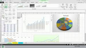 Excel 2013 Tutorial Choosing A Chart Layout With The Quick Layout Option Lynda Com