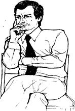Реферат Невербальная коммуникация Главным здесь является жест подпирание щеки указательным пальцем в то время как другой палец прикрывает рот а большой палец лежит под подбородком