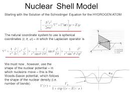 nuclear atomic s model