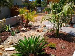 Small Picture Cool Desert Landscaping Ideas with Small Path also Short Plants in
