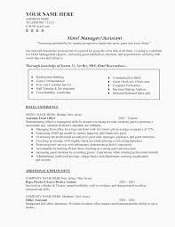 Hotel Manager Resume Lifespanlearnfo Restaurant Management Resume