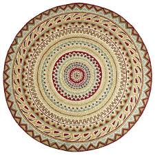 round area rugs ta fair isle red 6 round rug round rugs decorating and