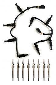 diesel injector wiring harness gaksets diesel glow plug harness complete package ford powerstroke 6 4l 2008 2010 navistar