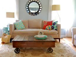 Pallet Coffee Table With Wheels  Recycled Pallet IdeasPallet Coffee Table On Wheels