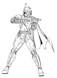 Small Picture Boba Fett Coloring Pages For Star Wars Coloring Pages Fett esonme