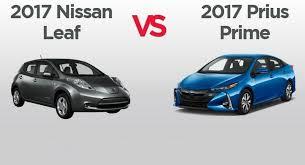 Toyota Prius Comparison Chart Green Comparison Chart Nissan Leaf Vs Toyota Prius Prime