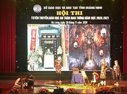 Hội thi Tuyên truyền Giáo dục an toàn giao thông năm học 2020 - 2021 - Báo  Quảng Ninh điện tử