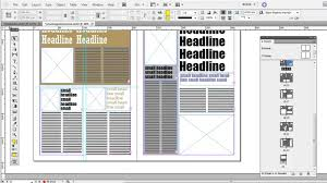 free magazine layout template free magazine indesign templates youtube