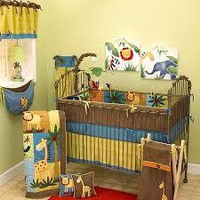 cotten tale cotton paradise machine washable 4 piece crib bedding set penny lane
