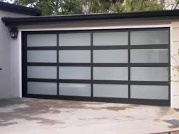 insulated glass garage doors cost
