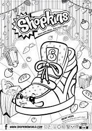 Shopkins Coloring Book 1 L L