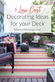 5 Deck Decorating Ideas on a Bud Martys Musings 2 1