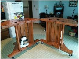 Cable Spool Tables That Are Simply Awesome